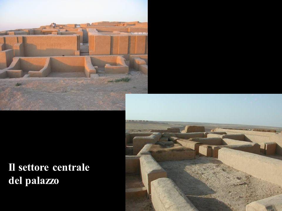 Il settore centrale del palazzo