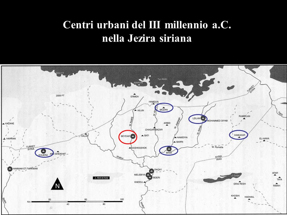 Centri urbani del III millennio a.C. nella Jezira siriana