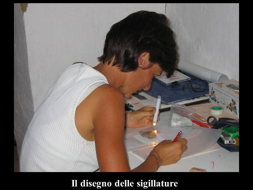 Il disegno delle sigillature