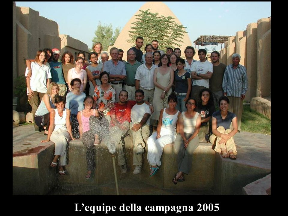 Lequipe della campagna 2005