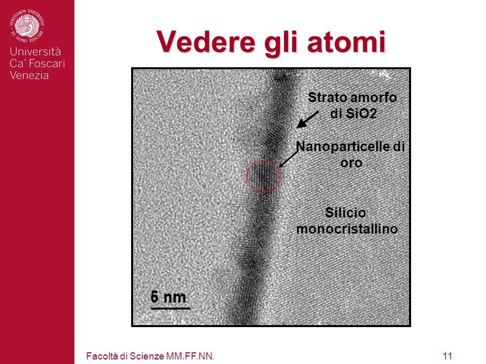 Facoltà di Scienze MM.FF.NN.10 Microscopia Elettronica