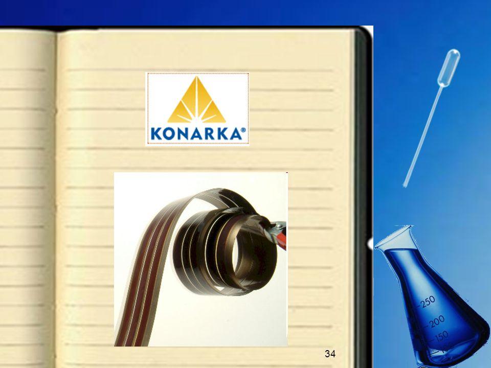 35 Arno Penzias, Premio Nobel per la Fisica, e lazienda Siemens stanno collaborando al progetto della Konarka Technologies: imitando il processo di produzione della pellicola fotografica, il loro obiettivo è quello di contenere il materiale elettrolitico allinterno di un film sottile, utilizzando un sigillante.