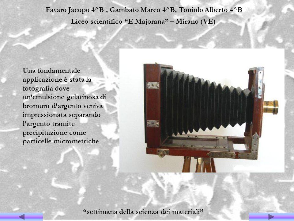 Favaro Jacopo 4^B, Gambato Marco 4^B, Toniolo Alberto 4^B Liceo scientifico E.Majorana – Mirano (VE) settimana della scienza dei materiali Una fondame