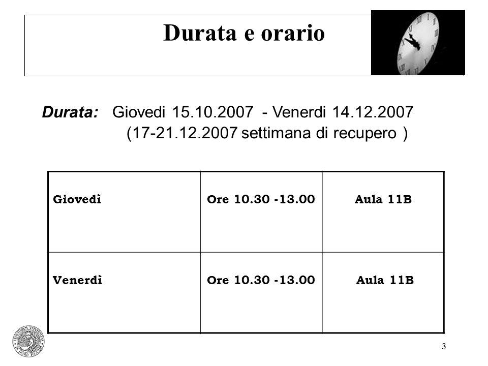 4 I materiali per lo studio Testo: Camuffo A., Comacchio A., Scapolan A.