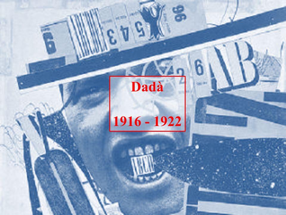 Cabaret Voltaire La data d inizio del Dadaismo si considera il 5 febbraio, quando a Zurigo nacque Cabaret Voltaire.
