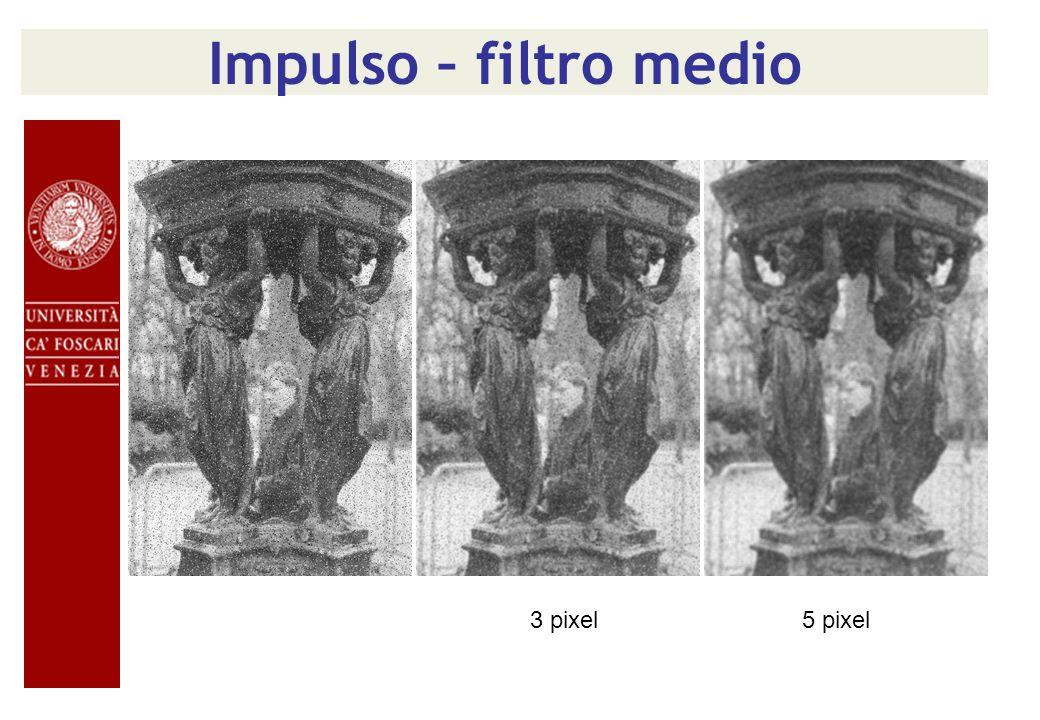 Impulso – filtro medio 3 pixel5 pixel