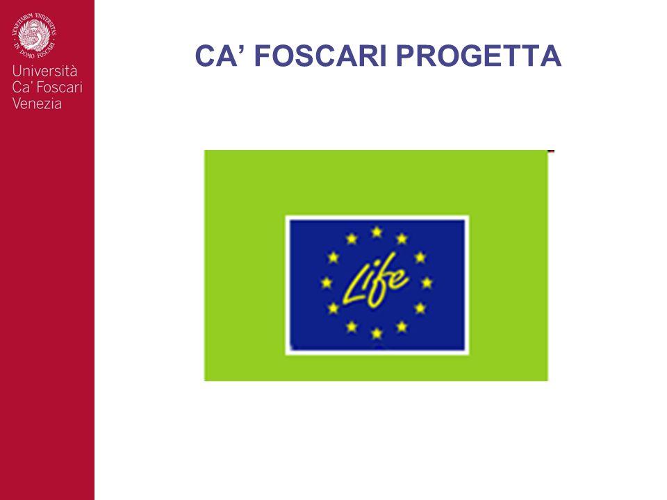 CA FOSCARI PROGETTA