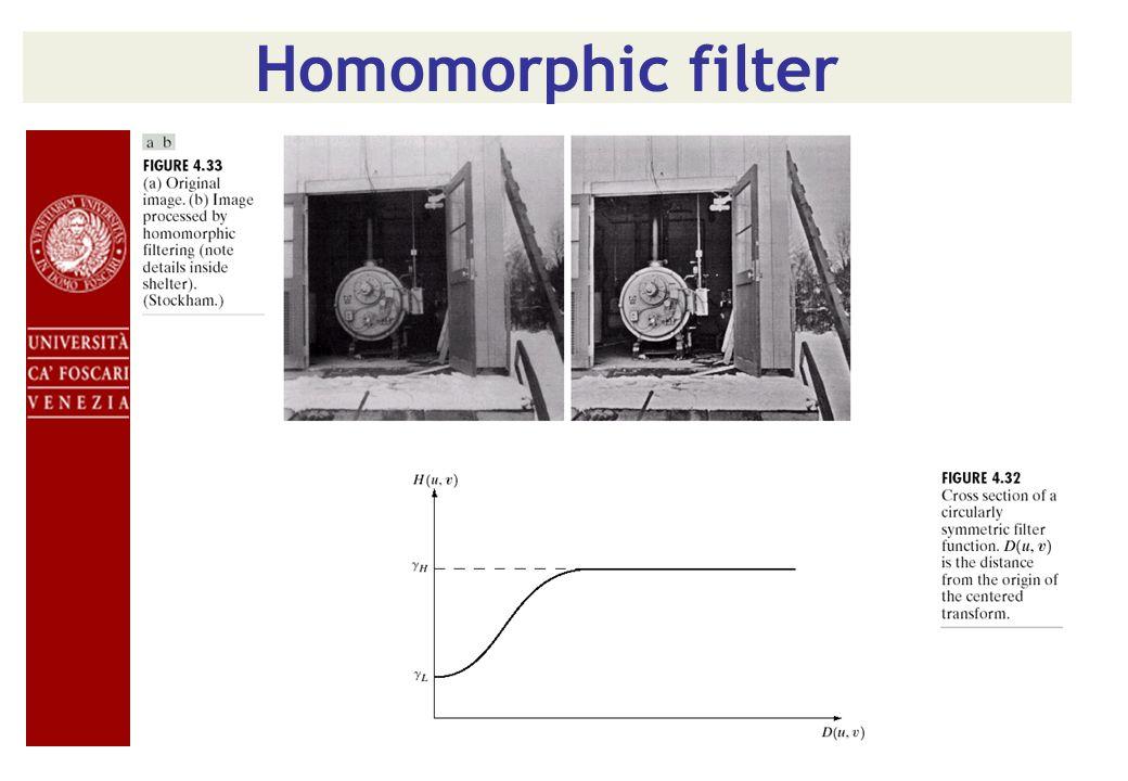 Inversione di un filtro Inverse filter Weiner filter
