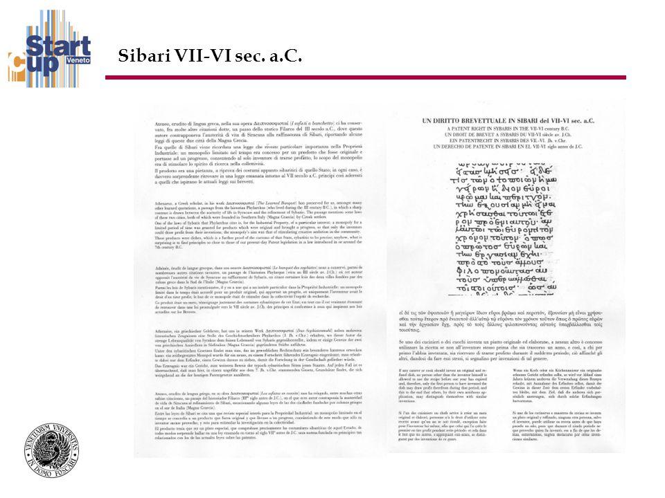 Sibari VII-VI sec. a.C.