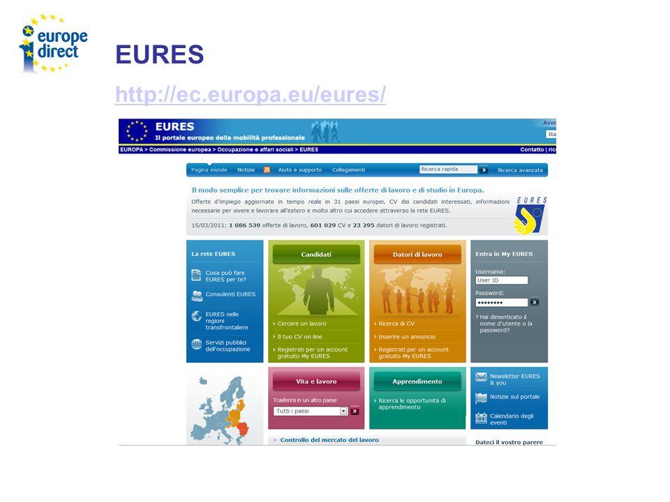 EURES http://ec.europa.eu/eures/