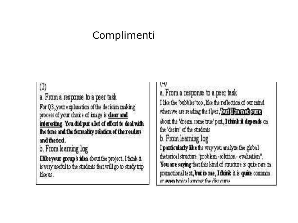 Esempi di complimento