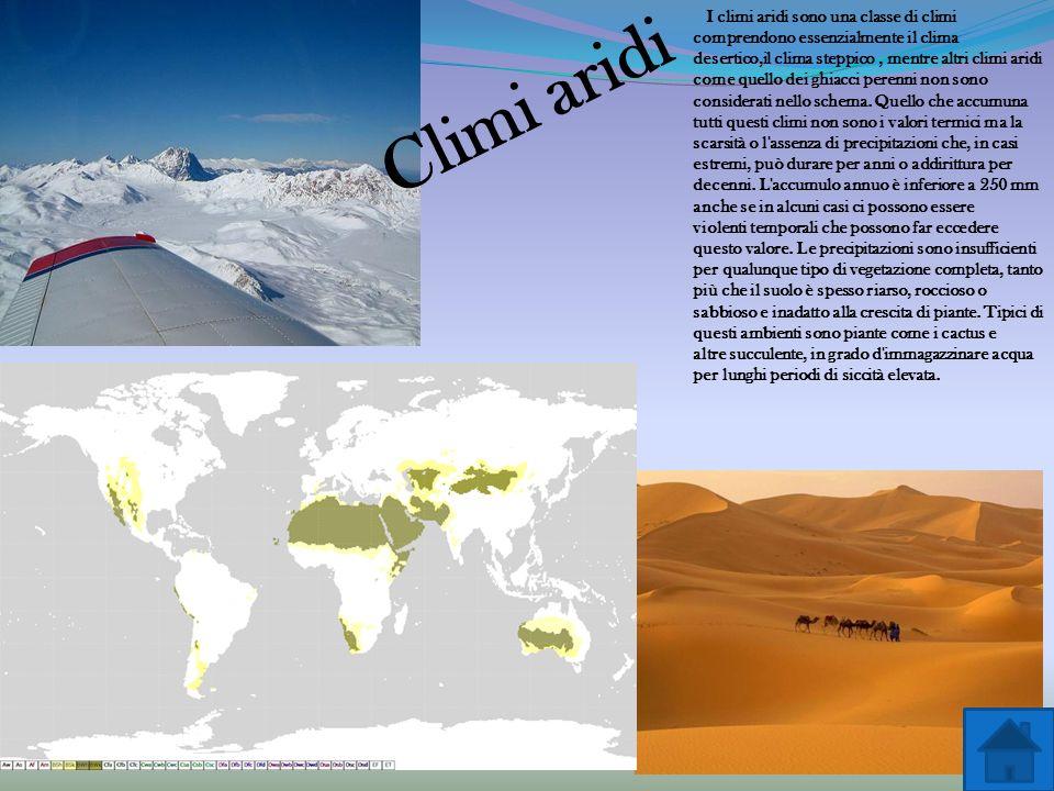 Climi tropicali Il clima tropicale è il clima tipico della zona torrida della Terra, ovvero la fascia compresa dentro i due tropici del Cancro e del C