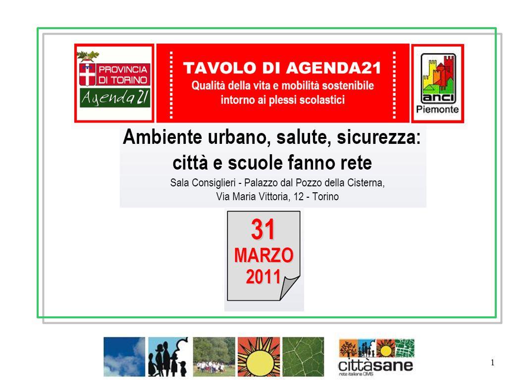 2 Simona Arletti Presidente nazionale Rete italiana Città Sane OMS
