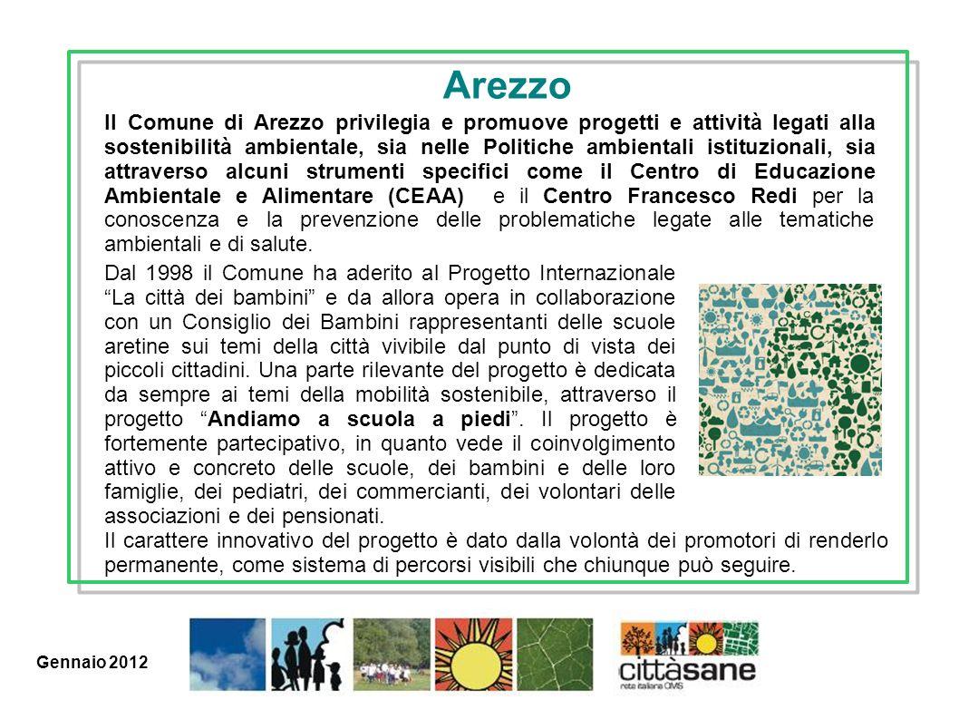 Marzo 2011 Dal 1998 il Comune ha aderito al Progetto Internazionale La città dei bambini e da allora opera in collaborazione con un Consiglio dei Bamb