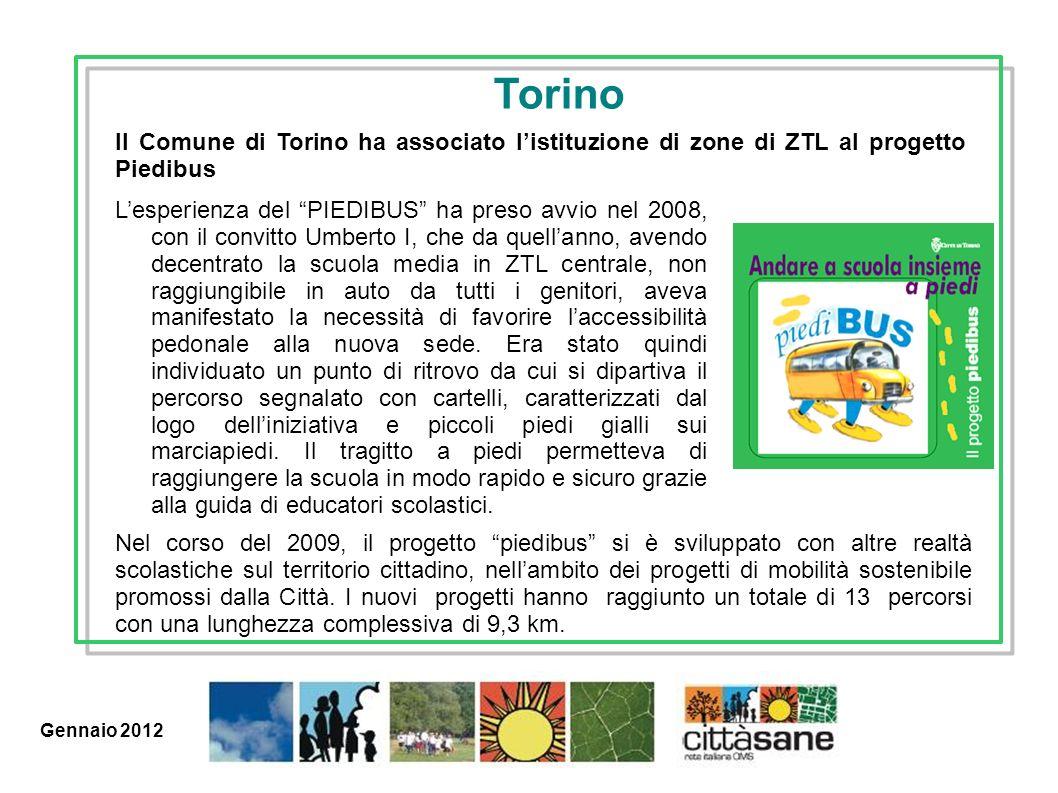 Marzo 2011 Lesperienza del PIEDIBUS ha preso avvio nel 2008, con il convitto Umberto I, che da quellanno, avendo decentrato la scuola media in ZTL cen