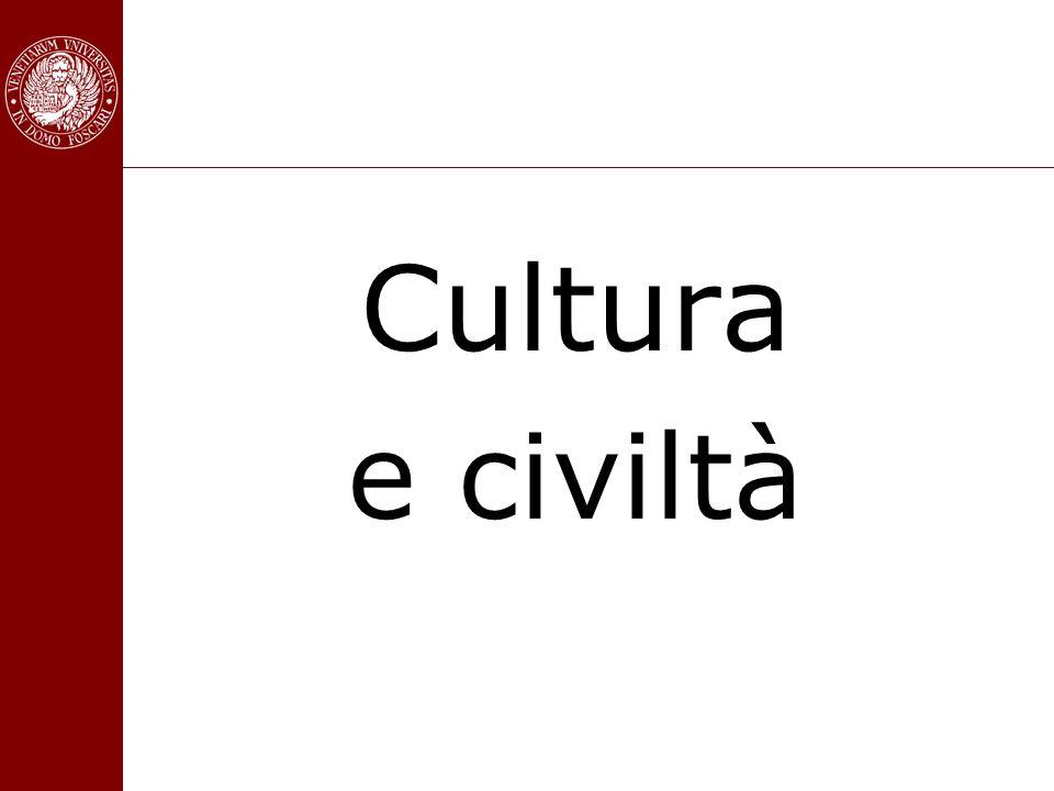 Cultura e civiltà