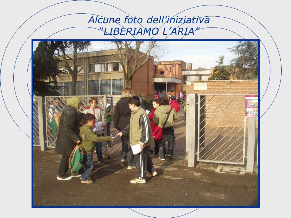 Alcune foto delliniziativa LIBERIAMO LARIA