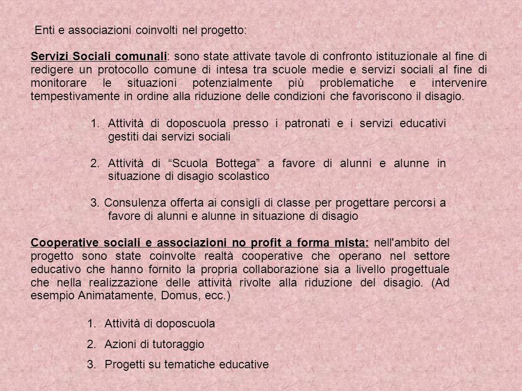 Un altro aspetto molto importante del progetto ha riguardato il coinvolgimento della realtà del volontariato, grazie anche al coinvolgimento del Centro Servizi per il Volontariato di Modena.
