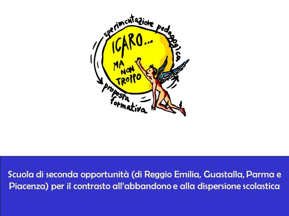 Scuola di seconda opportunità (di Reggio Emilia, Guastalla, Parma e Piacenza) per il contrasto allabbandono e alla dispersione scolastica