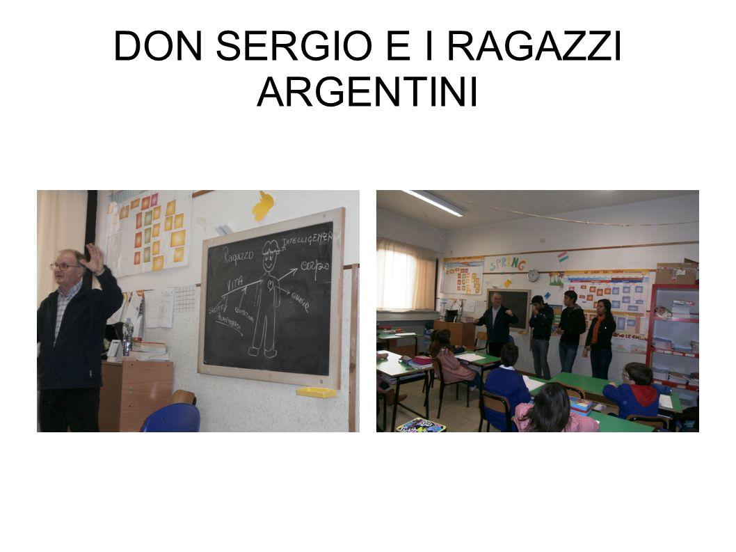 DON SERGIO E I RAGAZZI ARGENTINI