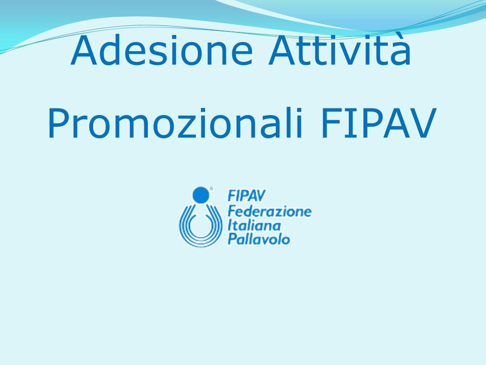Adesione Attività Promozionali FIPAV