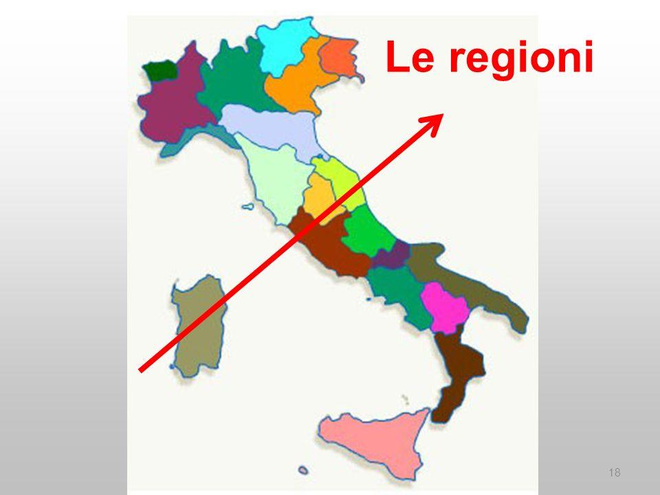 Le regioni 18