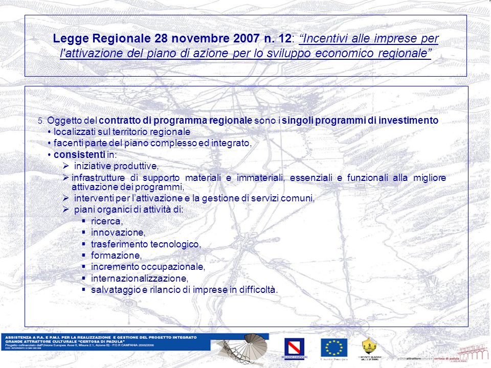 Legge Regionale 28 novembre 2007 n.