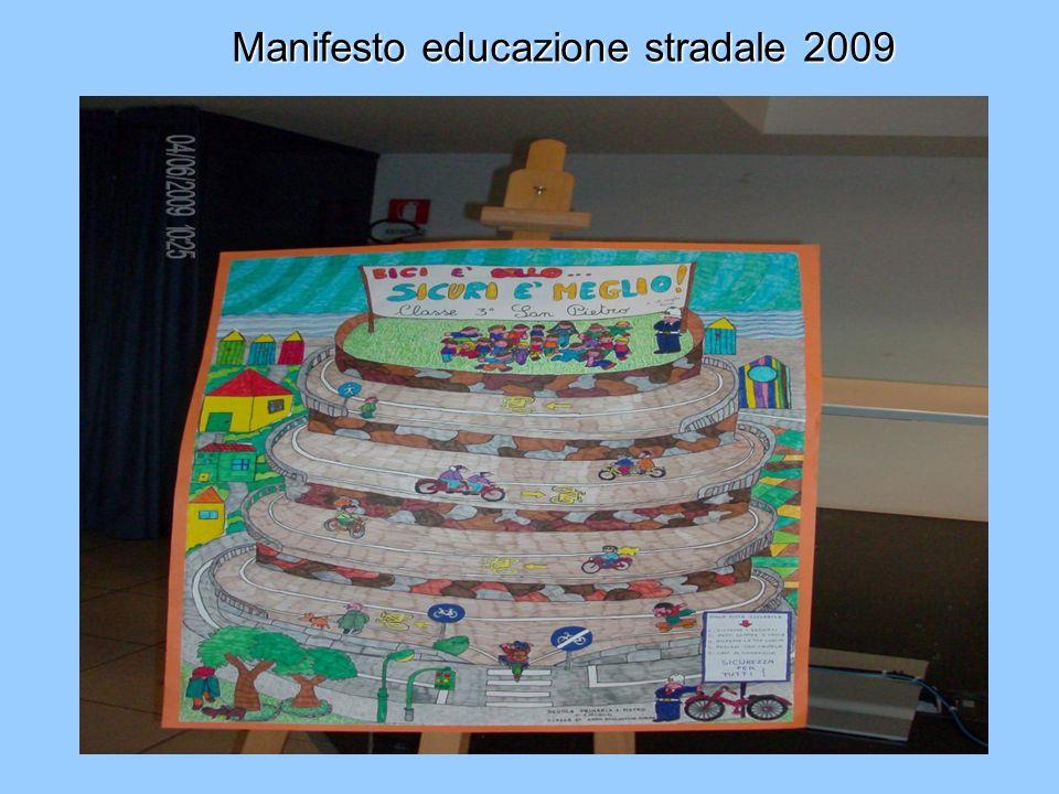 Manifesto educazione stradale 2007-2008