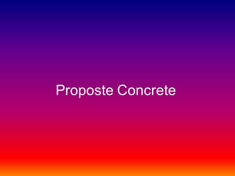 Proposte Concrete