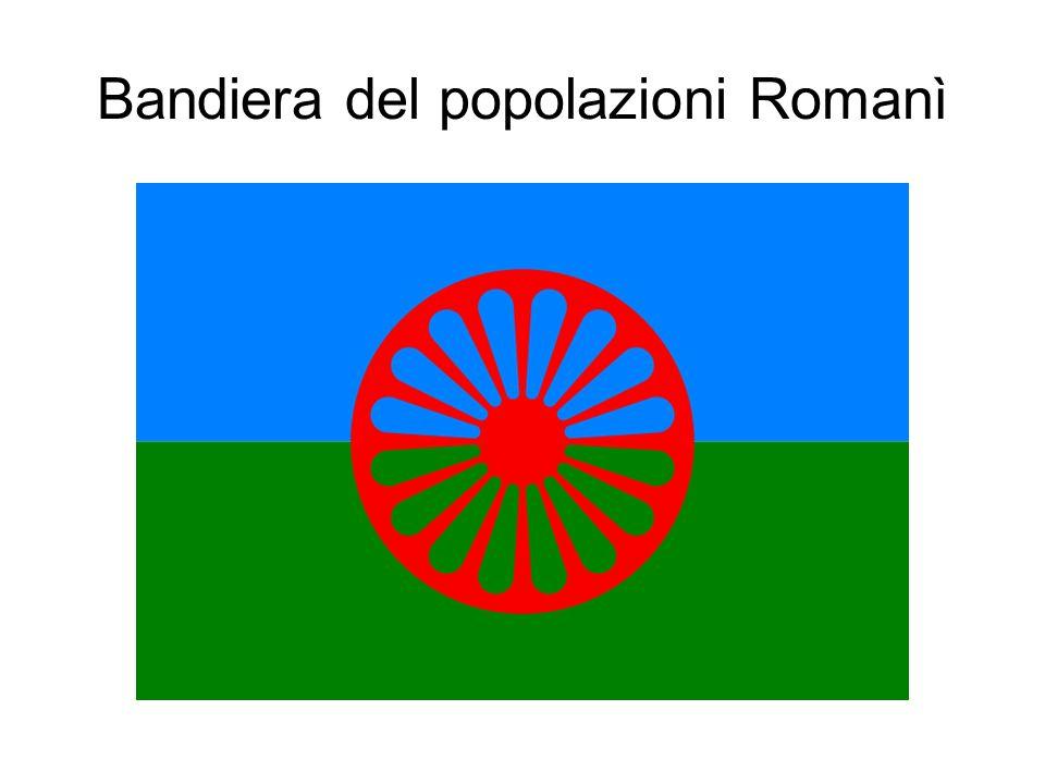 Bandiera del popolazioni Romanì