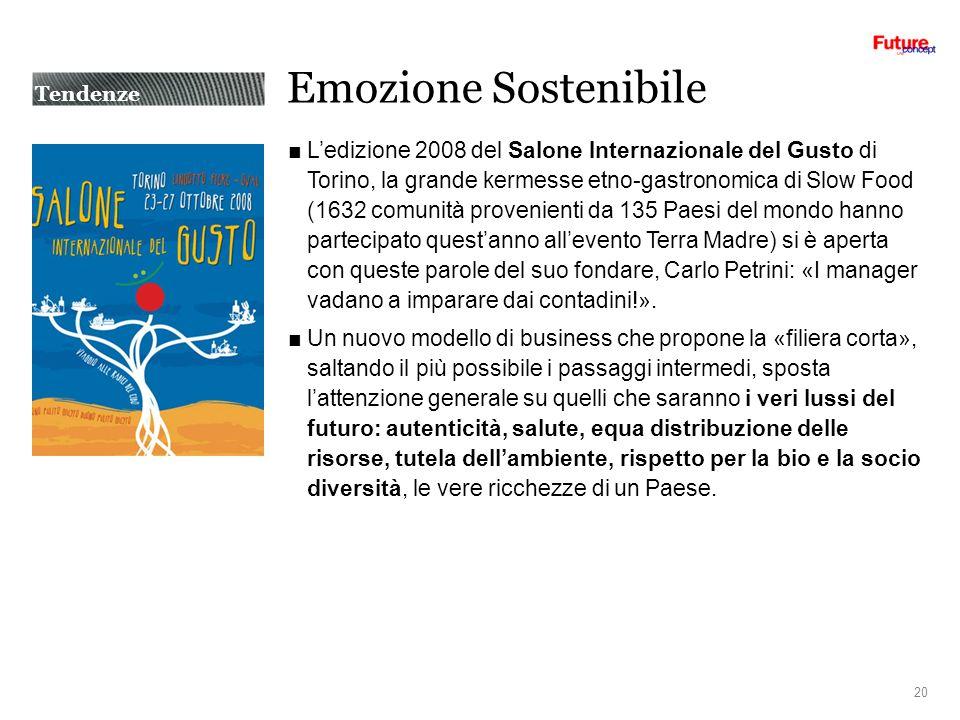 Emozione Sostenibile Ledizione 2008 del Salone Internazionale del Gusto di Torino, la grande kermesse etno-gastronomica di Slow Food (1632 comunità pr