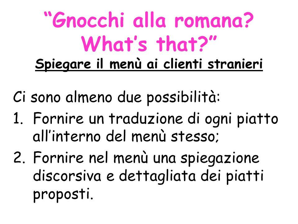Gnocchi alla romana.Whats that.