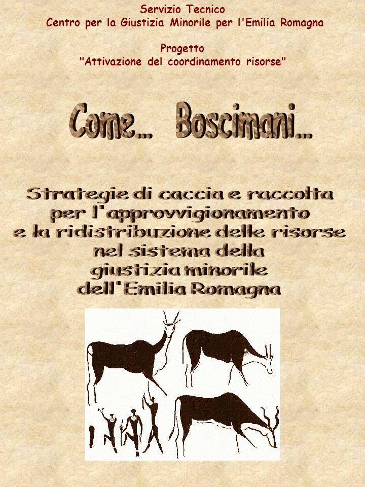 Servizio Tecnico Centro per la Giustizia Minorile per l Emilia Romagna Progetto Attivazione del coordinamento risorse