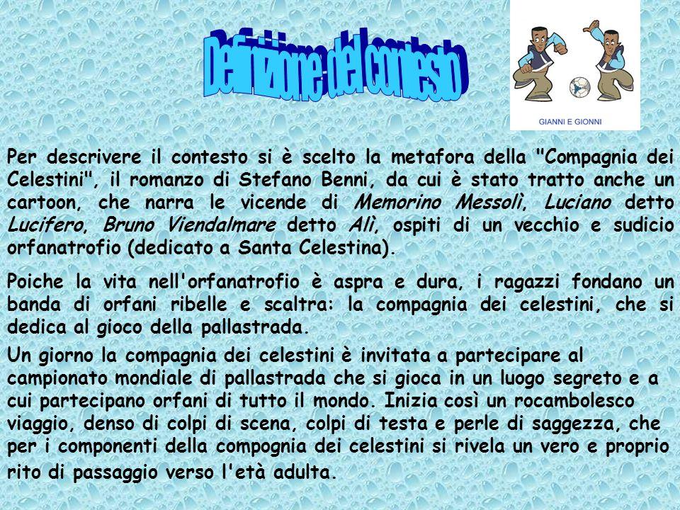 LA COMPAGNIA DEI CELESTINI Una stazione per i giocatori di Pallastrada PROGETTO COMUNITA Ministeriale di Bologna