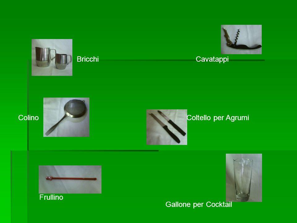 BricchiCavatappi ColinoColtello per Agrumi Frullino Gallone per Cocktail