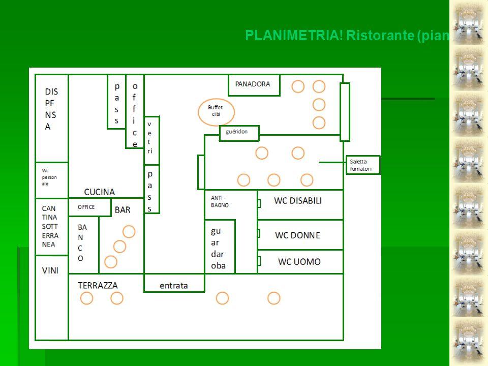 PLANIMETRIA! Ristorante (pianta)
