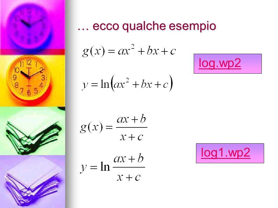 … ecco qualche esempio log.wp2 log1.wp2