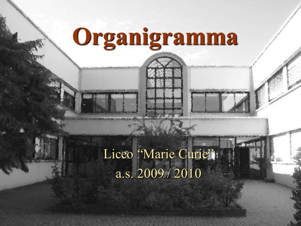 Organigramma Liceo Marie Curie a.s. 2009 / 2010
