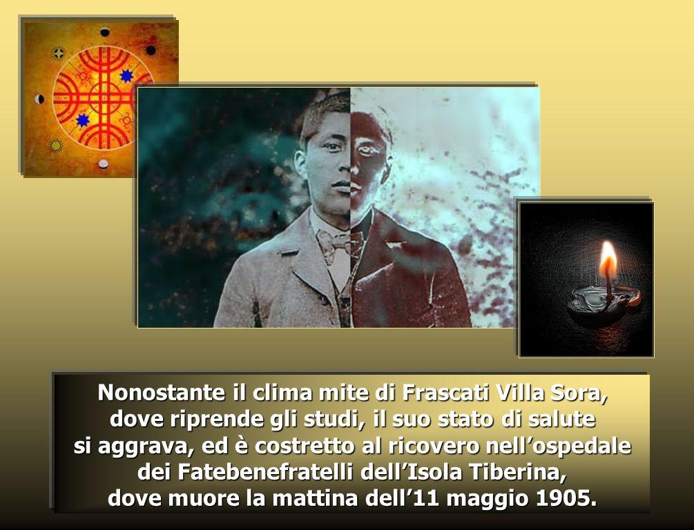 Il 28 settembre Zeffirino ha la fortuna di essere ricevuto in udienza privata dal Papa San Pio X.
