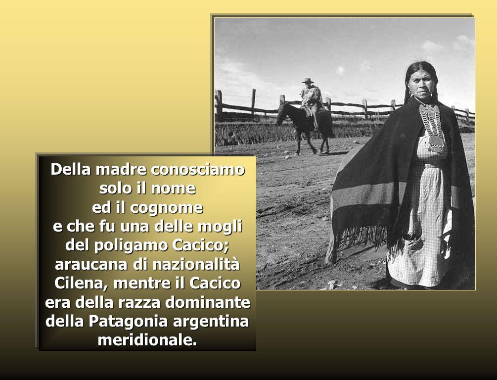 Don Domenico Milanesio, uno dei primi missionari salesiani nellArgentina, nel 1888 lo battezza con il nome di Zeffirino.