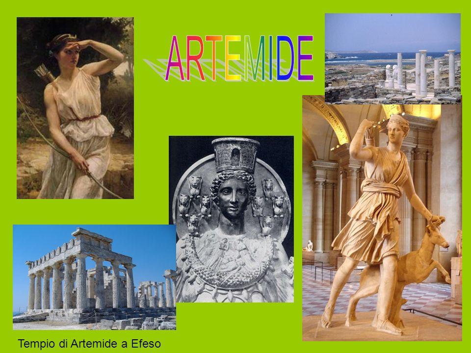LUCCISIONE DEI FIGLI DI NIOBE Niobe,regine di Tebe, si vantò di aver avuto più figli di Latona, ben quattordici, sette maschi e sette femmine; Apollo e Artemide si infuriarono e non esitarono a vendicarsi, con delle frecce avvelenate Apollo uccise i figli maschi, Artemide la femmine; I corpi defunti rimasero insepolti per dieci giorni finchè furono gli dei a provvedere alla loro tumulazione; Niobe, disperata per la perdita, si trasformò in un blocco di pietra dalla quale sgorgò una fonte.