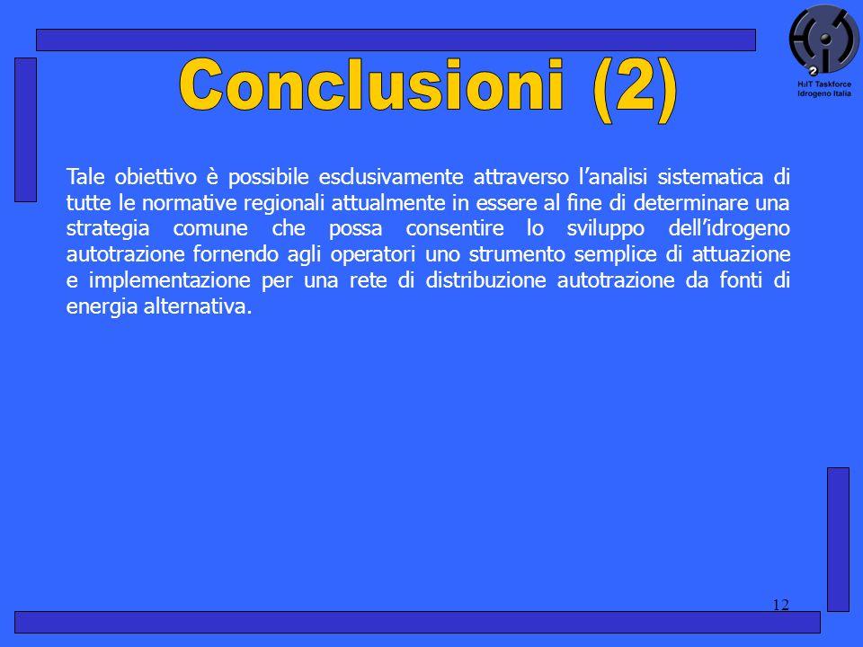 12 Tale obiettivo è possibile esclusivamente attraverso lanalisi sistematica di tutte le normative regionali attualmente in essere al fine di determin