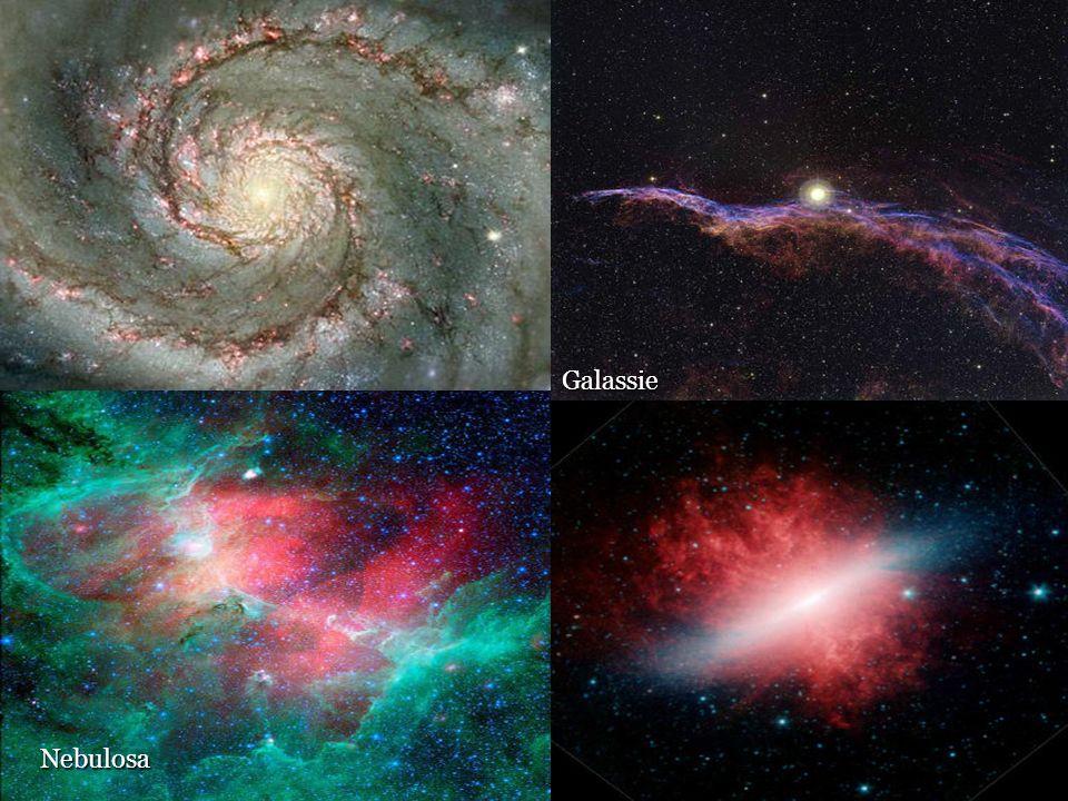 Nebulose, protostelle e stelle Nebulosa Galassie