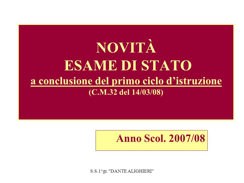 S.S.1°gr. DANTE ALIGHIERI Strumenti compensativi per studenti dislessici ( vd.