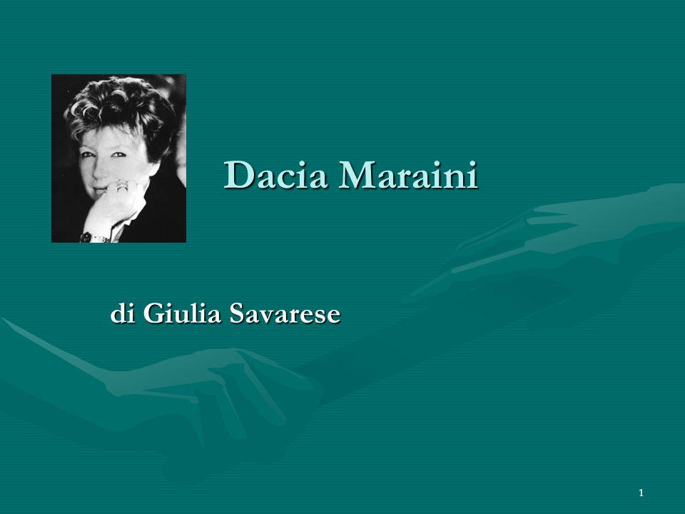 1 Dacia Maraini di Giulia Savarese