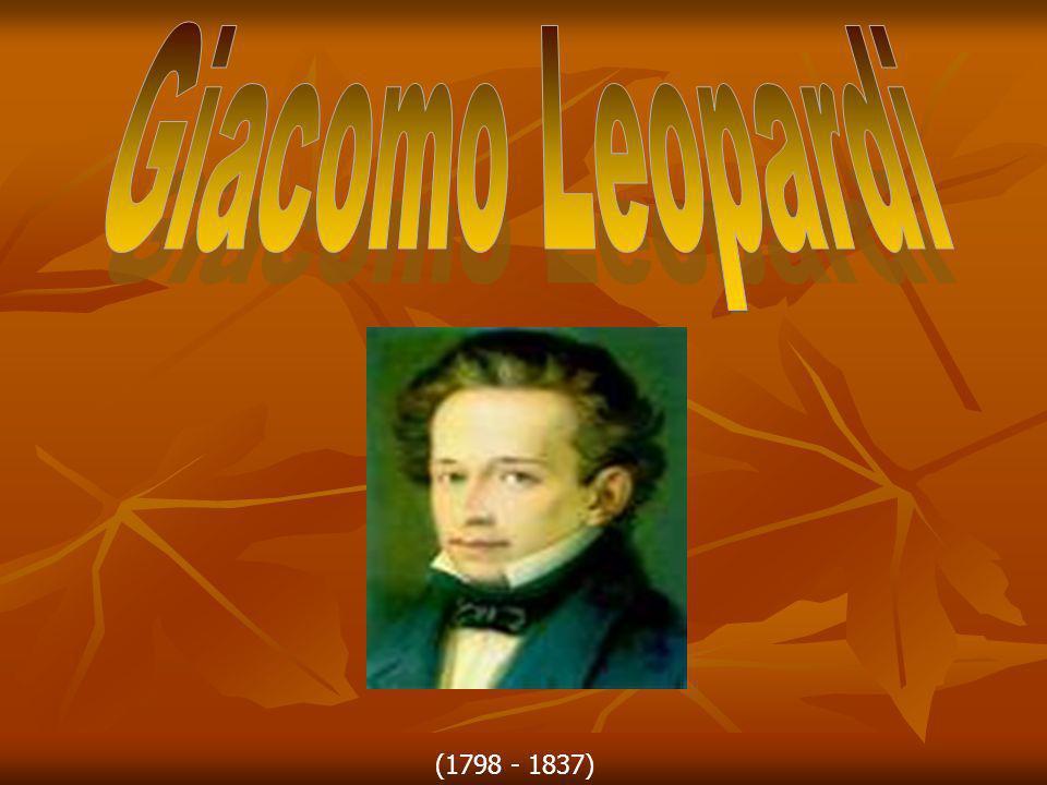 Giacomo Leopardi nacque a Recanati il 29 giugno 1798, primogenito della più illustre casata del piccolo centro marchigiano.