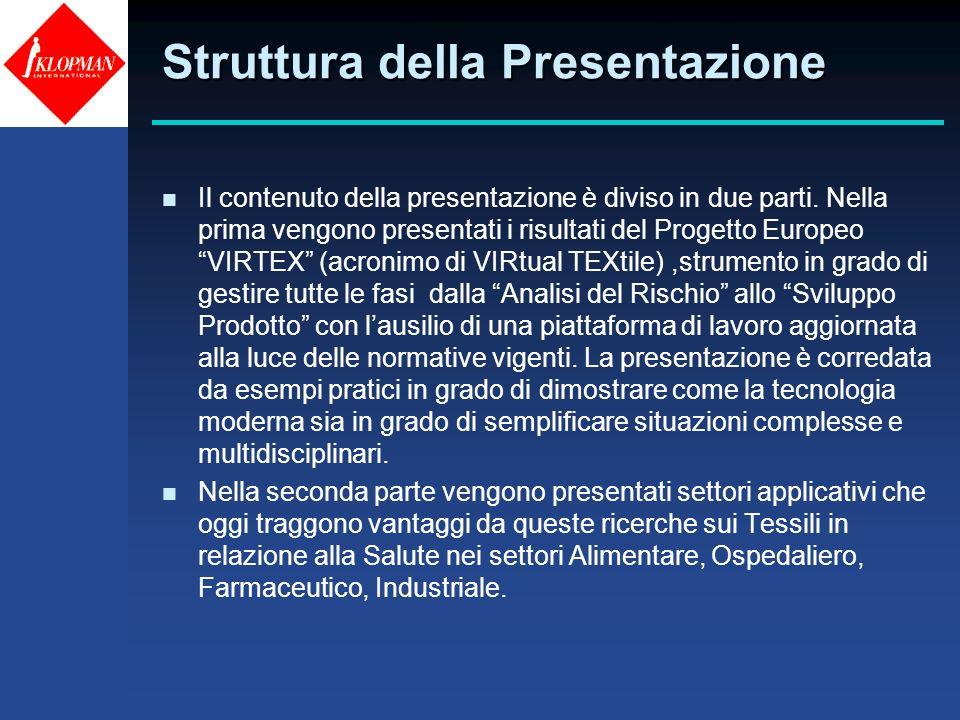 Struttura della Presentazione n Il contenuto della presentazione è diviso in due parti. Nella prima vengono presentati i risultati del Progetto Europe