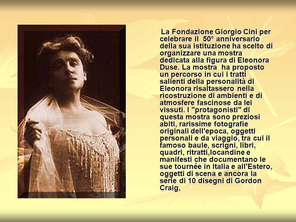 La Fondazione Giorgio Cini per celebrare il 50° anniversario della sua istituzione ha scelto di organizzare una mostra dedicata alla figura di Eleonor