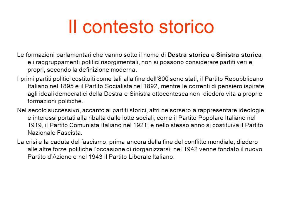 Il Partito Socialista Italiano In Italia il Socialismo lo si trova fin dal XIX secolo, nelle complesse vicende del Risorgimento.