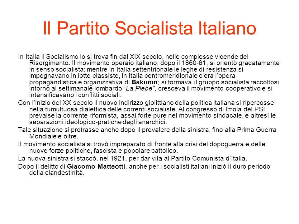 Il Partito comunista Il Partito Comunista nacque a Livorno nel1921, in seguito alla scissione dal PSI e del gruppo de L Ordine Nuovo di Antonio Gramsci e altri piccoli partiti di sinistra.